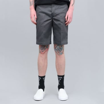 Dickies 273 Slim Fit Work Shorts Charcoal Grey