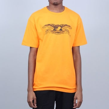 Anti Hero Basic Eagle T-Shirt Orange / Black