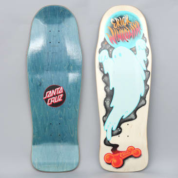 Santa Cruz 10.34 Winkowski Ghost Pre Issue Skateboard Deck Cream