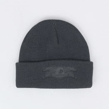 Anti Hero Basic Eagle Cuff Beanie Black / Black