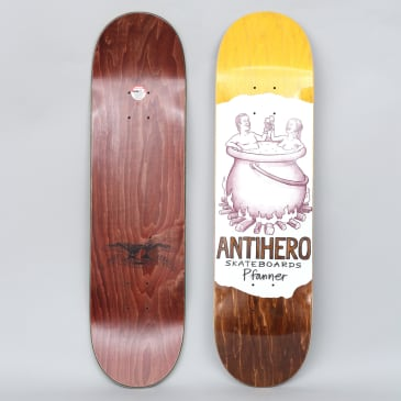 Anti Hero 8.12 Pfanner Oblivion Skateboard Deck White