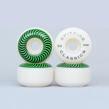 Spitfire 52mm Classic Wheels White