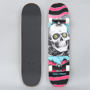 Powell Peralta 7.75 Ripper One Off 291 Complete Skateboard Pink