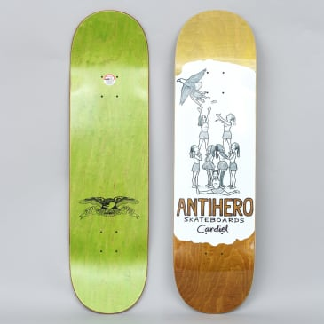 Anti Hero 8.38 Cardiel Oblivion Full Skateboard Deck White