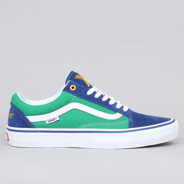 Vans Old Skool Pro Ltd Shoes (Sci-Fi Fantasy) True Blue / Green