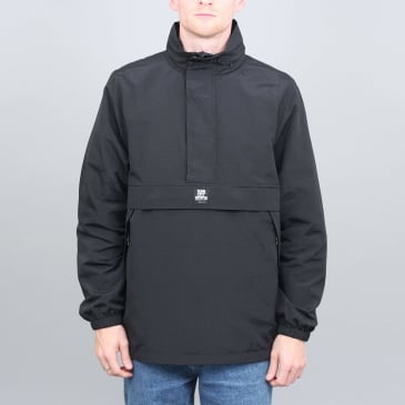 Slam City Skates Half Zip Shell Jacket Black