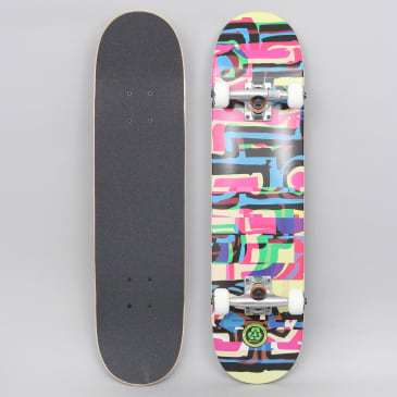 Blind 7.25 Logo Glitch FP Youth Complete Skateboard