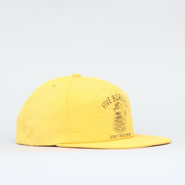 5Boro Don't Tread Snapback Cap Gold