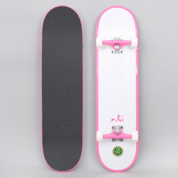Enjoi 8 Melrose New Resin Premium Complete Skateboard Pink