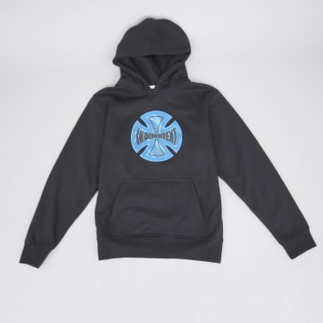 Independent Coil Youth Hood Black
