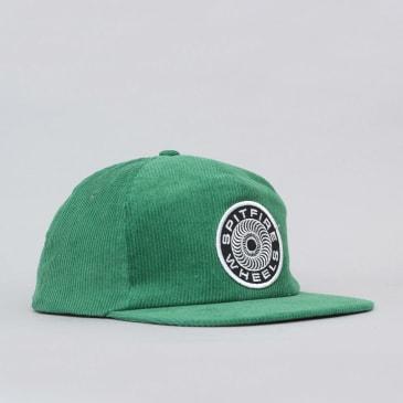 Spitfire Classic 87' Swirl Snapback Cap - Dark Green