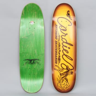 Anti Hero 9.18 Cardiel Carbine Skateboard Deck Yellow