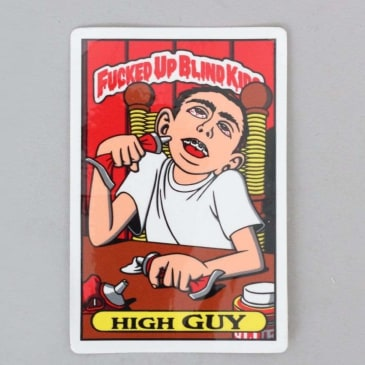 Blind High Guy Sticker