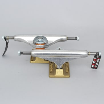 Independent 144 Stage 11 Anodized Standard Hollow Trucks Silver / Gold