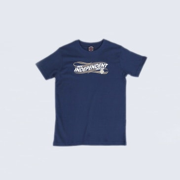 Independent Whip Youth T-Shirt Navy