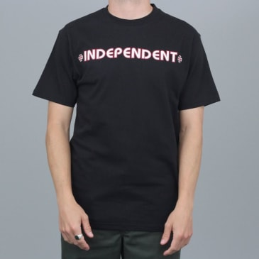 Independent Bar Cross T-Shirt Black