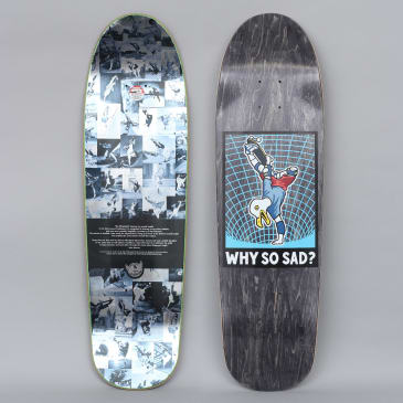 Real 8.76 Why So Sad Skateboard Deck