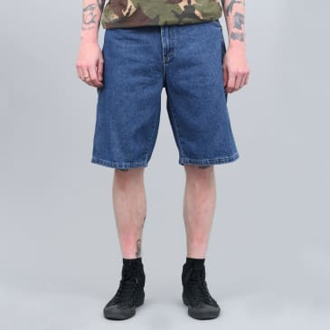 "Dickies 11"" Relaxed Fit Carpenter Shorts Stonewashed Indigo Blue"