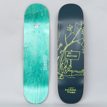 Krooked 8.5 Ronnie Resting Full Skateboard Deck