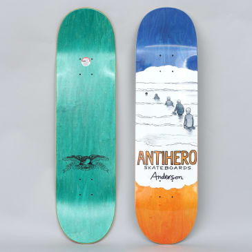 Anti Hero 8.25 BA Oblivion Skateboard Deck White