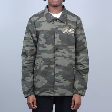 Anti Hero Stock Eagle Water Resistant Coaches Jacket Camo / Multi