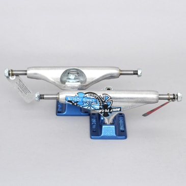 Independent 139 Stage 11 Standard Chris Joslin Hollow Forged Trucks Silver / Blue (Pair)