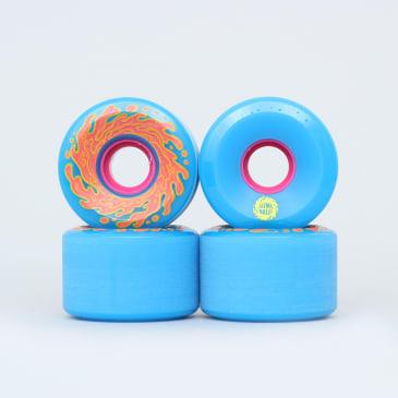 Santa Cruz 60mm 78A Slime Balls OG Wheels Neon Blue / Neon Pink