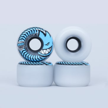 Spitfire 54mm 80HD Charger Conical Clear / Blue Soft Wheels