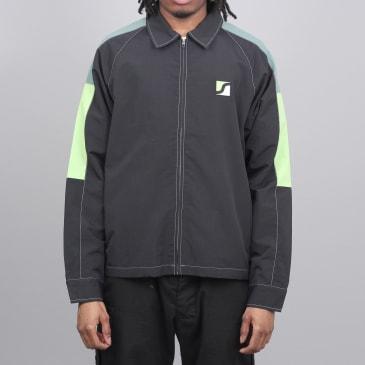 Stussy Panel Zip Jacket Black