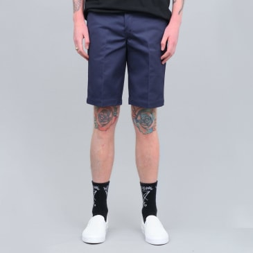 Dickies 273 Slim Fit Work Shorts Navy Blue