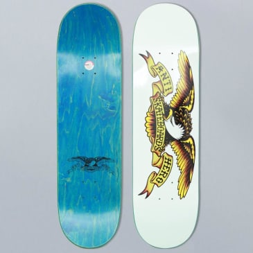Anti Hero 8.75 Classic Eagle XXL Team Skateboard Deck White