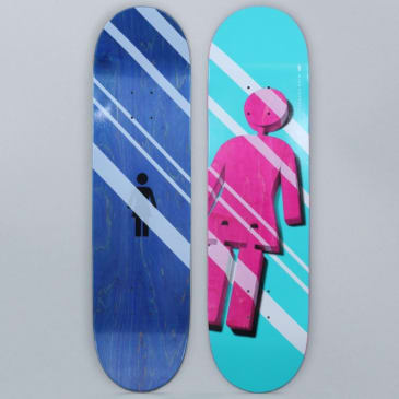 Girl 8.375 Mike Carroll Shutter OG Skateboard Deck