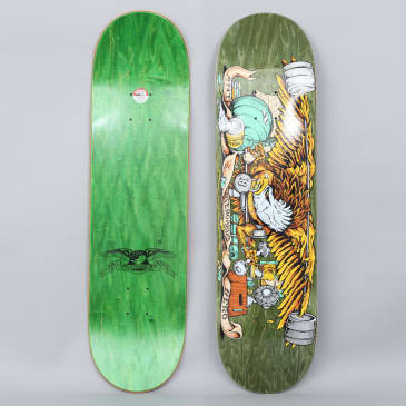 Anti Hero 8.28 Pumping Feathers Skateboard Deck