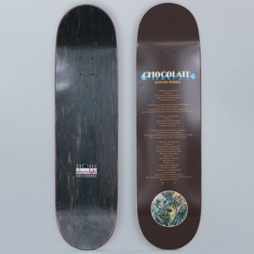 Chocolate 8.375 Stevie Perez Liner Notes Skateboard Deck
