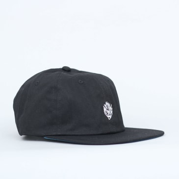 Slam City Skates Flamehead Cap Black