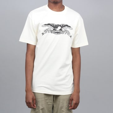 Anti Hero Basic Eagle T-Shirt Cream / Black