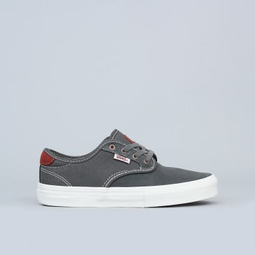 Vans Chima Ferguson Pro Youth Shoes Gunmetal / Burnt Henna