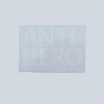 Anti Hero Black Hero Sticker White