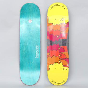 Krooked 8.25 Gonz Face Off Skateboard Deck