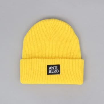 Antihero Lil Blackhero Beanie - Yellow