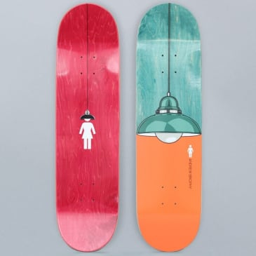 Girl 8.375 Andrew Brophy Illuminated Skateboard Deck