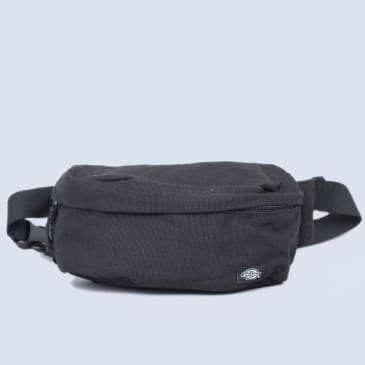 Dickies Penwell Canvas Bum Bag Black