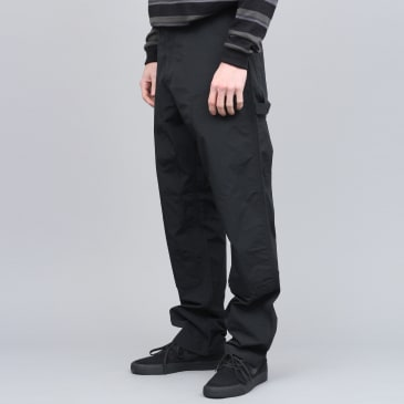 Pop Trading X Carhartt Double Knee Pant Black
