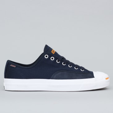Converse Jack Purcell Pro OX Shoes Dark Obsidian / White