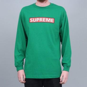 Powell Peralta Supreme Longsleeve T-Shirt Kelly Green