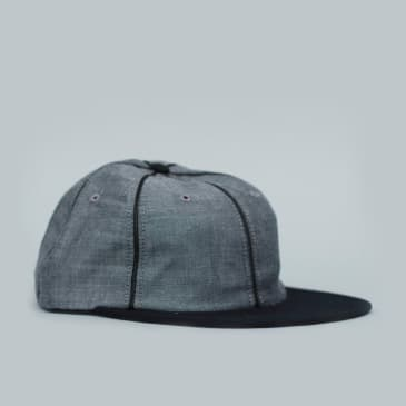 HUF Jackson 6 Panel Adjustable Cap Black