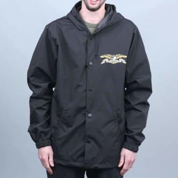Anti Hero Stock Eagle Coaches Jacket Black