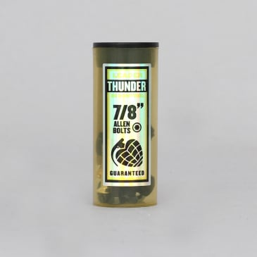 Thunder 7/8 Allen Skateboard Bolts Black / Gold