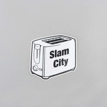 Slam City Skates Sonic Sticker White