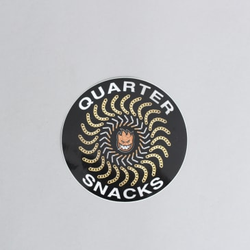 Spitfire X Quartersnacks Quarter Classics Sticker